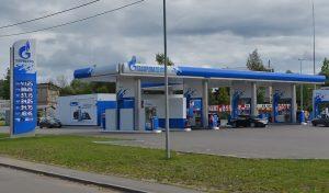 Установка ИСТО на АЗС Газпромнефть