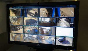 Установка системы видеонаблюдения на АЗС